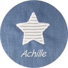 Trousse de toilette enfant bleu gris Arthur Etoile