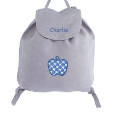 Sac à dos enfant Gris Apple Pie