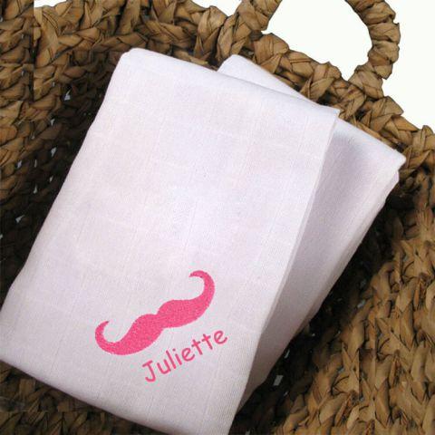 Lange personnalisé Moustache