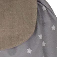 Sac à dos enfant gris perle Etoiles