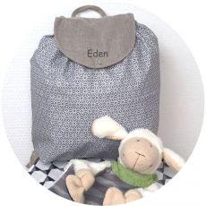 Petit sac enfant Aiko gris