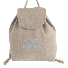 Sac personnalisable bébé C'est mon sac!