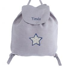 Sac personnalisable Gris Tom