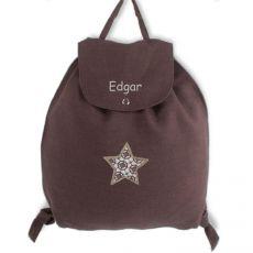 Sac à dos enfant chocolat Edgar