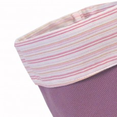 Panier en tissu Prune Bahia