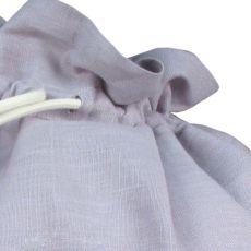 Sac à jouets Etoile gris perle