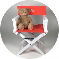 Chaise enfant personnalisée Corail