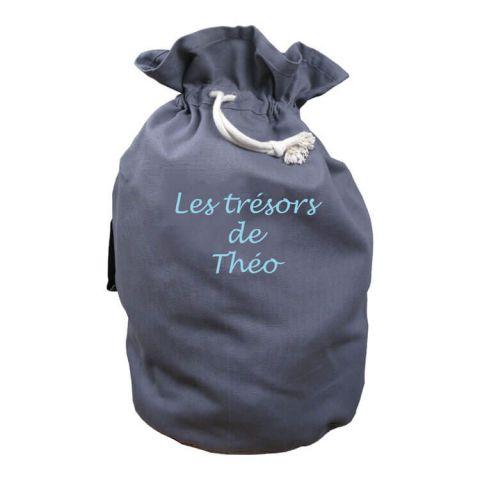 Panier jouet Gris Souris Les trésors de...
