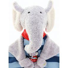 Peluche personnalisée Zebulon l'Eléphant