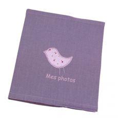 Album photo bébé personnalisé Prune Lovely Cherry