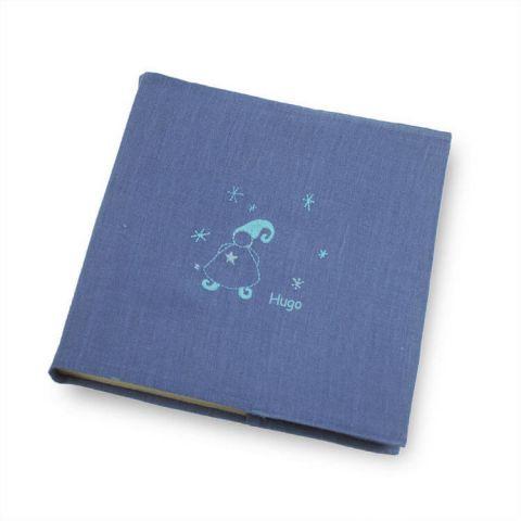 Album photo naissance bleu Magicien