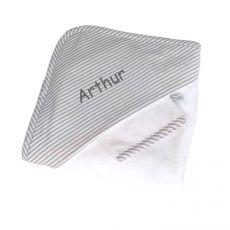 Sortie de bain Arthur imprimée