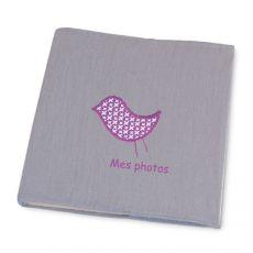 Album Photo pour bébé Gris Mila