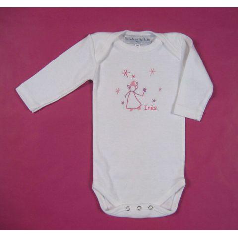 Body bébé personnalisé Fée