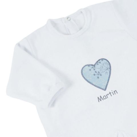 Pyjama bébé personnalisé Prélude