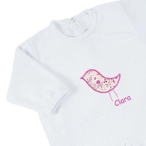Pyjama naissance fille Fleur d'enfance
