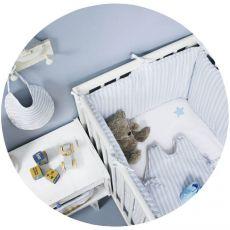 Tour de lit bébé garçon Emilien