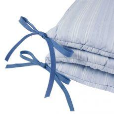 Tour de lit bleu Cache-cache