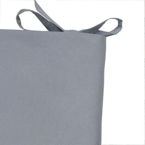 Tour de lit garçon uni Bleu gris