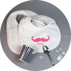 Bavoir Moustache