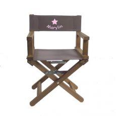 Chaise de cinéma Taupe Etoile