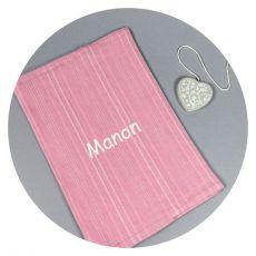Protège carnet de santé fille personnalisé Romance