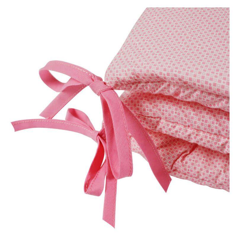 Un tour de lit fille rose mettre sur votre liste de - Comment mettre le tour de lit ...