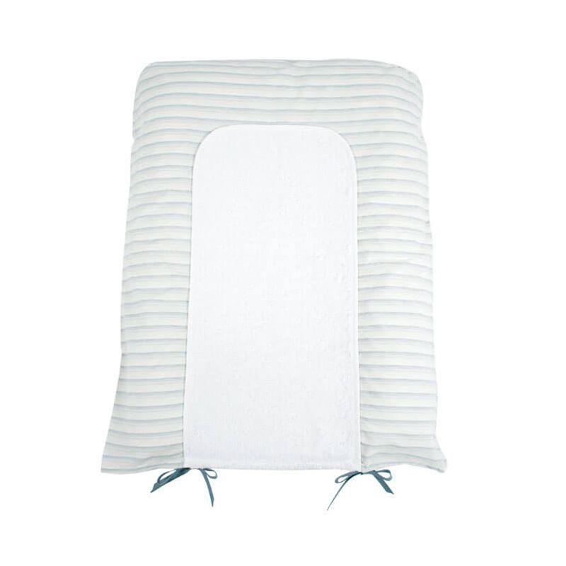 housse pour matelas langer rayures parfaite pour une. Black Bedroom Furniture Sets. Home Design Ideas