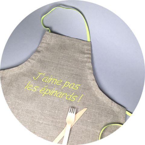 tablier-de-cuisine-enfant-lin-vert-epinard