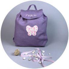 sac-a-dos-enfants-prune-papillon-rose-fleuri