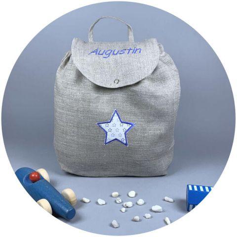 sac-ecole-maternelle-lin-etoile-bleue