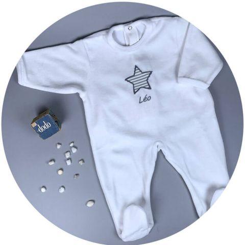 pyjama-velours-bebe