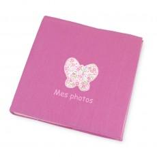Album photo bébé rose Hanaé