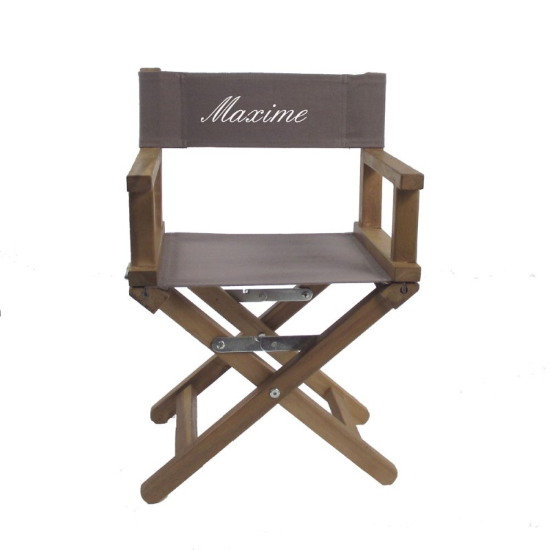 fauteuil metteur en scene optez pour cette chaise de r alisateur. Black Bedroom Furniture Sets. Home Design Ideas