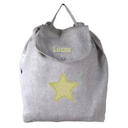 le sac dos enfant personnalis un cadeau de naissance original baladeenroulotte. Black Bedroom Furniture Sets. Home Design Ideas