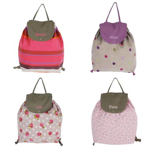 d couvrez nos nouveaux sacs dos pour enfants personnalis s. Black Bedroom Furniture Sets. Home Design Ideas