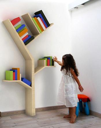 chambres d 39 enfant des arbres d coratifs et pratiques baladeenroulotte. Black Bedroom Furniture Sets. Home Design Ideas