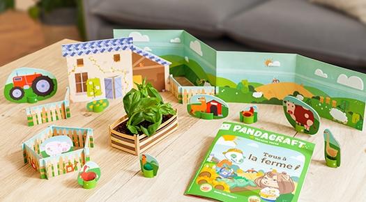 pandacraft kit pour enfants
