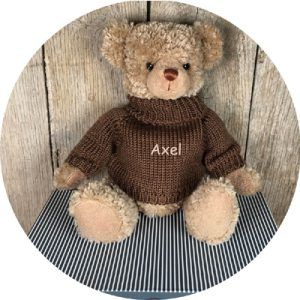 peluche ours personnalisable