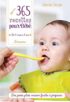 365 recettes pour une diversification alimentaire bébé de alejski-Christine