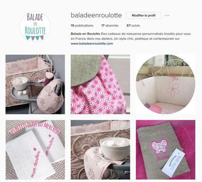 Balade en Roulotte sur Instagram
